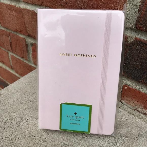 Kate Spade Sweet Nothings Notebook